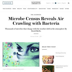 Microbe Census Reveals Air Crawling with Bacteria