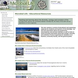 Microbial Life - Educational Resources