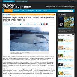 Le grand dégel arctique ouvre la voie à des migrations microbiennes risquées
