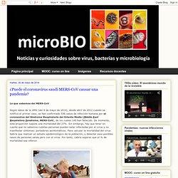 microBIO: ¿Puede el coronavirus saudí MERS-CoV causar una pandemia?