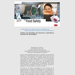 Universidade de São Paulo - 2010 - Análise microbiológica de alimentos: importância do plano de amostragem