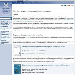 2011 - Dangers microbiologiques associés aux produits frais