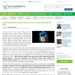 Gut microbiota studies lead to new understandings of IBD