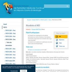 Microbiote et MICI – FMC-HGE