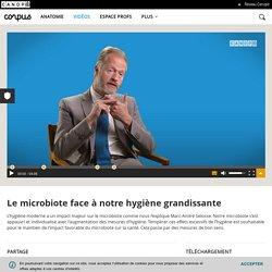 Vidéo Le microbiote face à notre hygiène grandissante par Marc-André Sélosse (4'06) Corpus réseau Canopé
