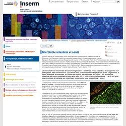 Microbiote intestinal et santé