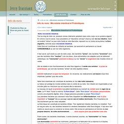 Microbiote intestinal et Probiotiques
