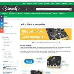 microbit & accessories from Kitronik