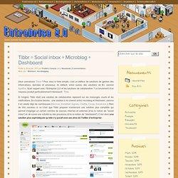 Entreprise 2.0 > Tibbr = Social inbox + Microblog + Dashboard
