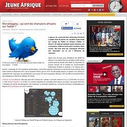 Microblogging : qui sont les champions africains sur Twitter ?
