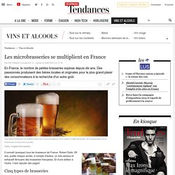 Les microbrasseries se multiplient en France