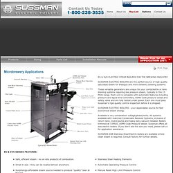 Microbrewery Applications | Sussman Electric Boilers