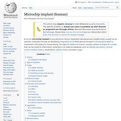 Microchip implant (human) - Wikipedia