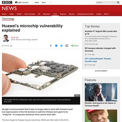 Microchips, massive blow: Huawei's vulnerability explained