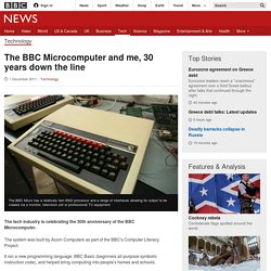 The BBC Microcomputer and me, 30 years down the line