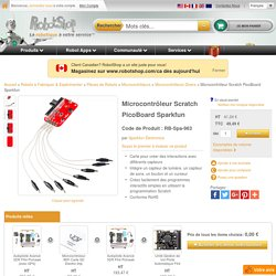 Microcontrôleur Scratch PicoBoard Sparkfun