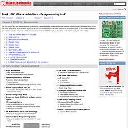 Chapter 3: PIC16F887 Microcontroller - Book: PIC Microcontrollers - Programming in C