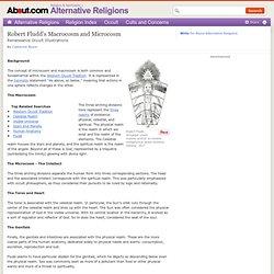 Microcosm and Macrocosm - Robert Fludd Occult Illustrations