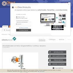 Microdosificador con tolva / de gravimétricas / continuo / de polvo - PureFeed® D - Schenck Process