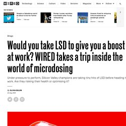 What is microdosing? Buying and taking LSD to boost performance