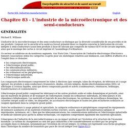Chapitre 83 - L'industrie de la microélectronique et des semi-conducteurs