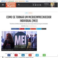 Como se tornar um microempreendedor individual (MEI) - PEGN
