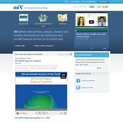 MIX - Microfinance Information Exchange