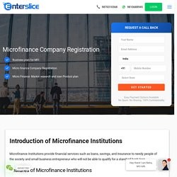 Microfinance Company Registration Online