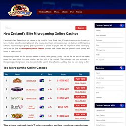 Microgaming Online Casinos NZ