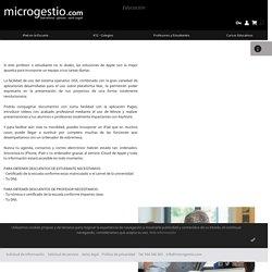 Microgestio