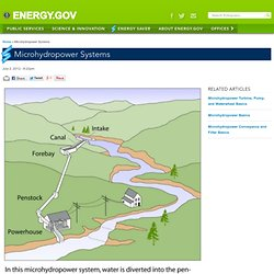 Microhydropower Systems