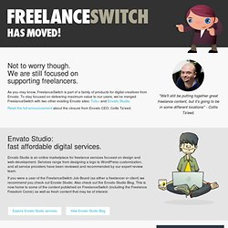 FreelanceSwitch | Freelance Jobs, Freelance Forum & Directory