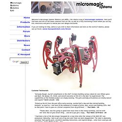 Micromagic Systems Robotics Lab