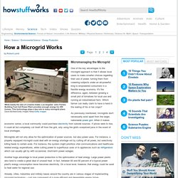 Micromanaging the Microgrid - HowStuffWorks