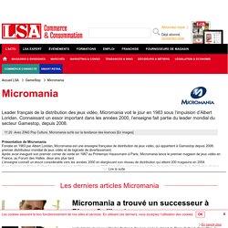 Micromania : Actus du spécialiste de la vente de jeux vidéo sur LSA Conso