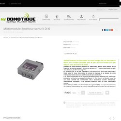 Micromodule émetteur sans fil Di-O