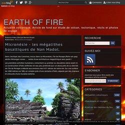 Micronésie - les mégalithes basaltiques de Nan Madol.