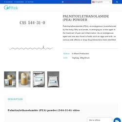 Micronized Palmitoylethanolamide powder-Manufacturer factory