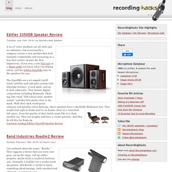 Microphone Database | Audio Recording News | RecordingHacks