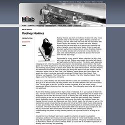 Milab Microphones - Artists - Rodney Holmes