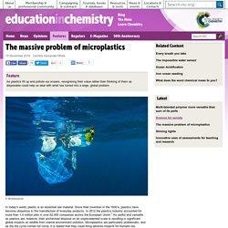The massive problem of microplastics