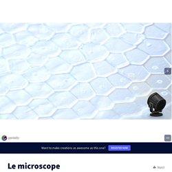 Le microscope par Mme VIANDIER sur Genially