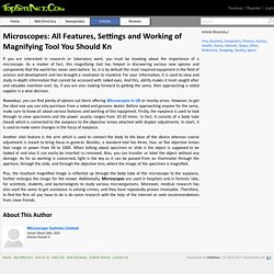 Microscopes: All Features, Settings and Working of Magnifying Tool You Should Kn