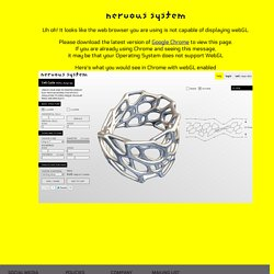 Cell Cycle: 3d-printable jewelry design app inspired by microscopic cellular structures