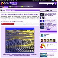 Graphène : une clé pour la microscopie électronique des liquides