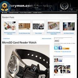 MicroSD Card Reader Watch