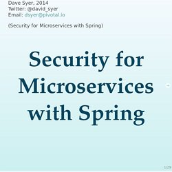 microservice-security