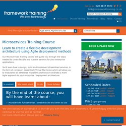 Microservices Training Course - Framework Training