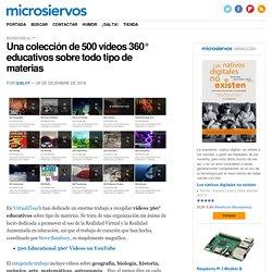 Una colección de 500 vídeos 360° educativos sobre todo tipo de materias