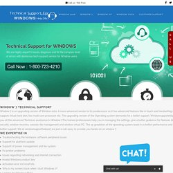 Microsoft Windows 7 Technical Support Phone Number USA 18007234210